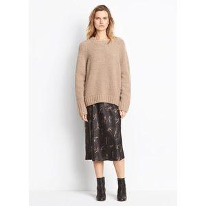 Vince Floral Slip Skirt